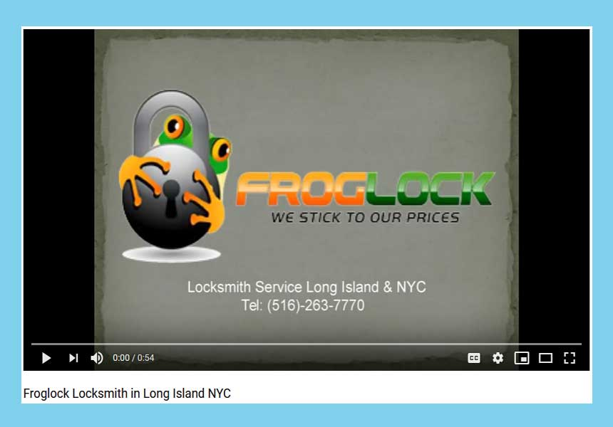 Froglock Locksmith in Long Island NYC