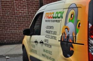 Frog Lock Locksmith Work Van