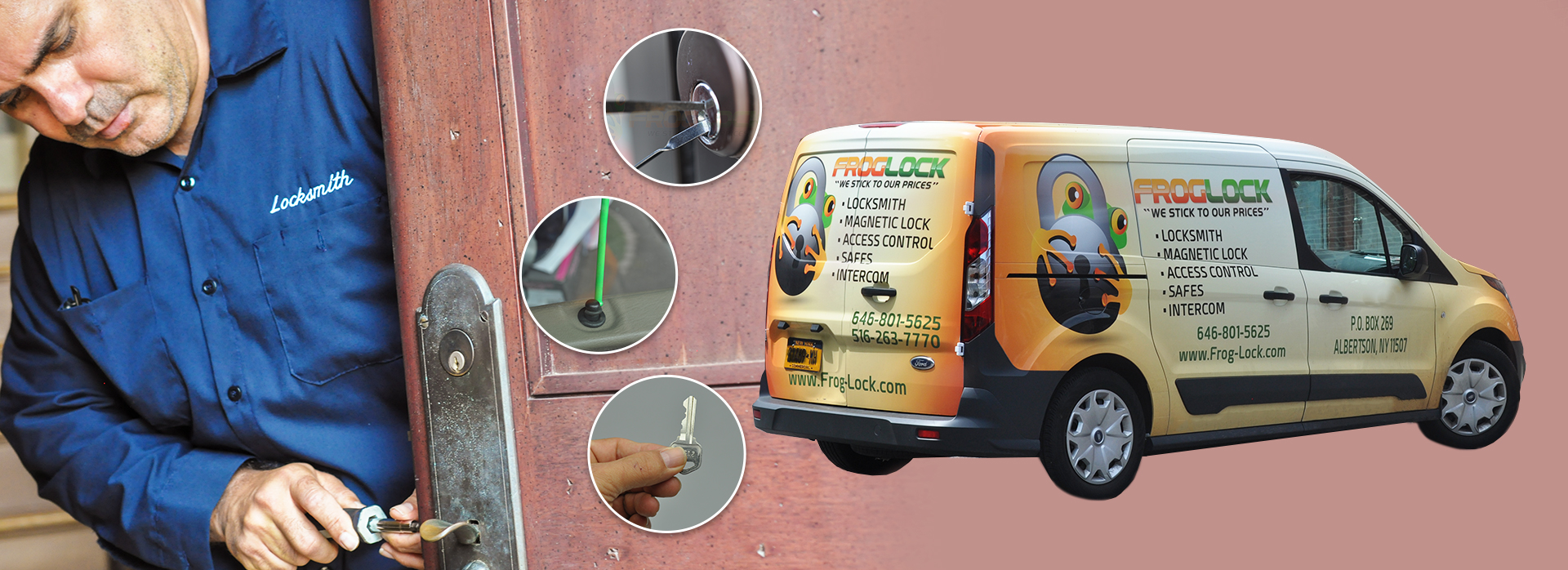 Frog Lock Long Island locksmith Service